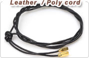 poly cord European beads