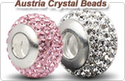 Austrian crystal European beads