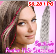 Synthetic Feather Extensions
