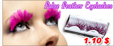 False Feather Eyelashes