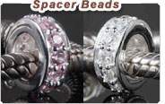 925 Silver spacer beads