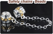European beads safety chains