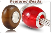 featured charm European beads