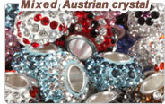 Different Styles Austrian crystal European Austrian crystal charm beads