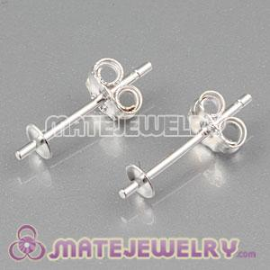 925 Sterling Silver Stud Earring Component Findings