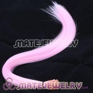 Fashion Fushia Synthetic Feather Hair Extensions Cheap
