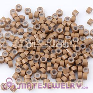 Brown Silicone Micro Ring Beads For Hair Extension Wholesale