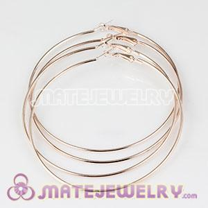 Wholesale 80mm Basketball Wives Plain Hoop Earrings