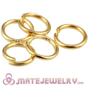 Mix 500pcs per bag 3.5mm Split Rings Gold Plated For Basketball Wives Earrings