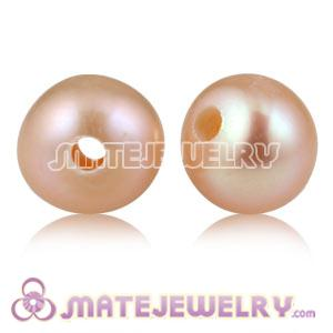 Wholesale 6mm Pink Natural Freshwater Pearl Beads For DIY Jewelry