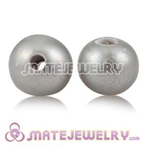 Wholesale 6mm Grey Natural Freshwater Pearl Beads For DIY Jewelry