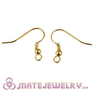 Mix 250 Pair Per Bag Gold Plated Hooks For Basketball Wives Earrings Accesories