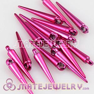 22mm Peach Spike Beads For Basketball Wives Hoop Earrings