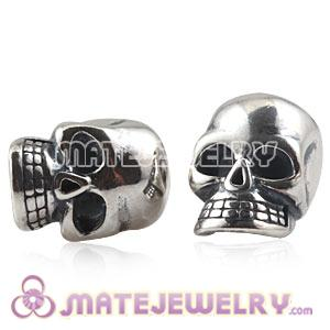 Sterling Silver European Skull Charms Beads Wholesale