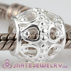 925 Sterling Silver European A Cloud Silver Lining Charm Beads Wholesale
