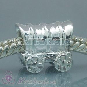 S925 Sterling Silver European Style Carriage Beads and Charms