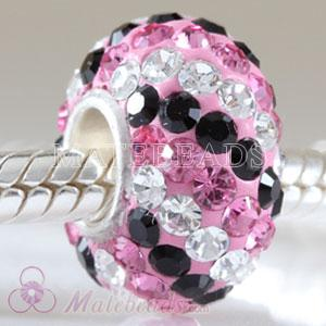 2010 latest Austrian crystal European charms fit fashion focal beads