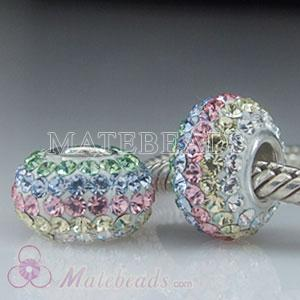 Austrian crystal Lovecharmlinks rainbow charms