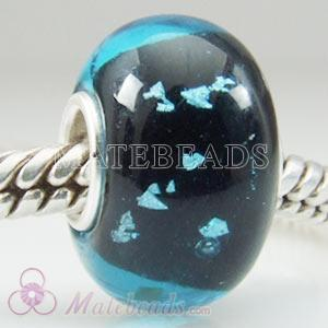 European foil glass beads fit Largehole Jewelry beads