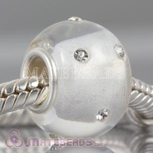 Kerastyle crystal Glass Bead with Crystal