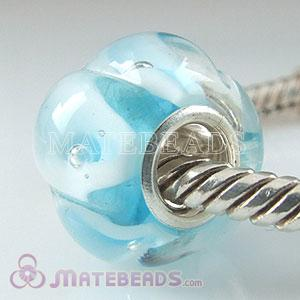Italian Lampwork beads fit European jewellery