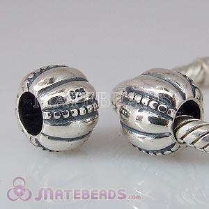 European sterling silver beads