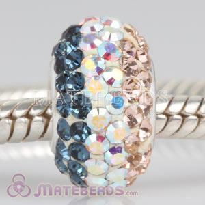 2011 latest Austrian crystal European charms fit fashion focal beads