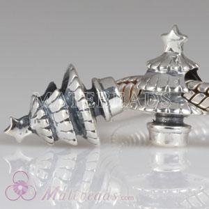 European christmas tree charm beads