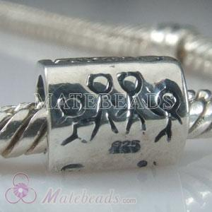 European Mothers Beads Family ties charms