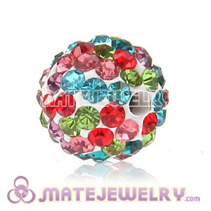 Wholesale Cheap Price 10mm Handmade Pave Crystal Beads