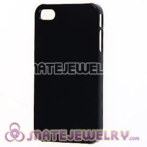 Black Plastic Protective Back Cases For iPhone 4 iPhone 4S Wholesale