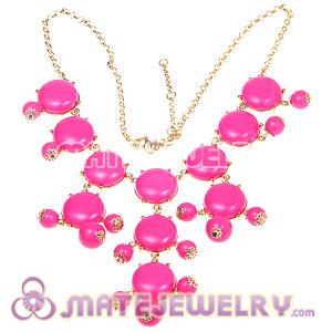 2012 New Fashion Roseo Bubble Bib Statement Necklace
