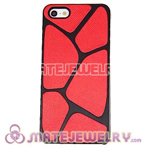 Fashion Snake Skin Protective Cover Cases For Apple iPhone 5