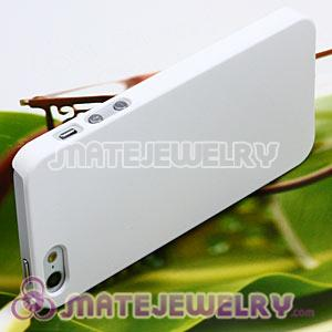 Ultra Slim White Frosted Hard Cover Cases For iPhone5 Gen 5th 5G