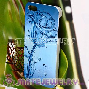 Top Class Water Flower Pattern Hard Cases For iPhone5 Gen 5th 5G