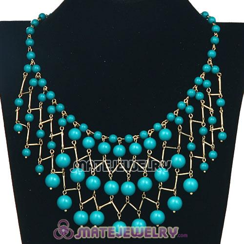 Fashion Bauble Cascade Bib Necklaces Wholesale
