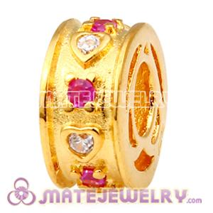 Gold Plated with Gemstones