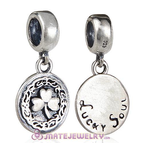 European Style Sterling Silver Beads Dangle Lucky Soul Charm