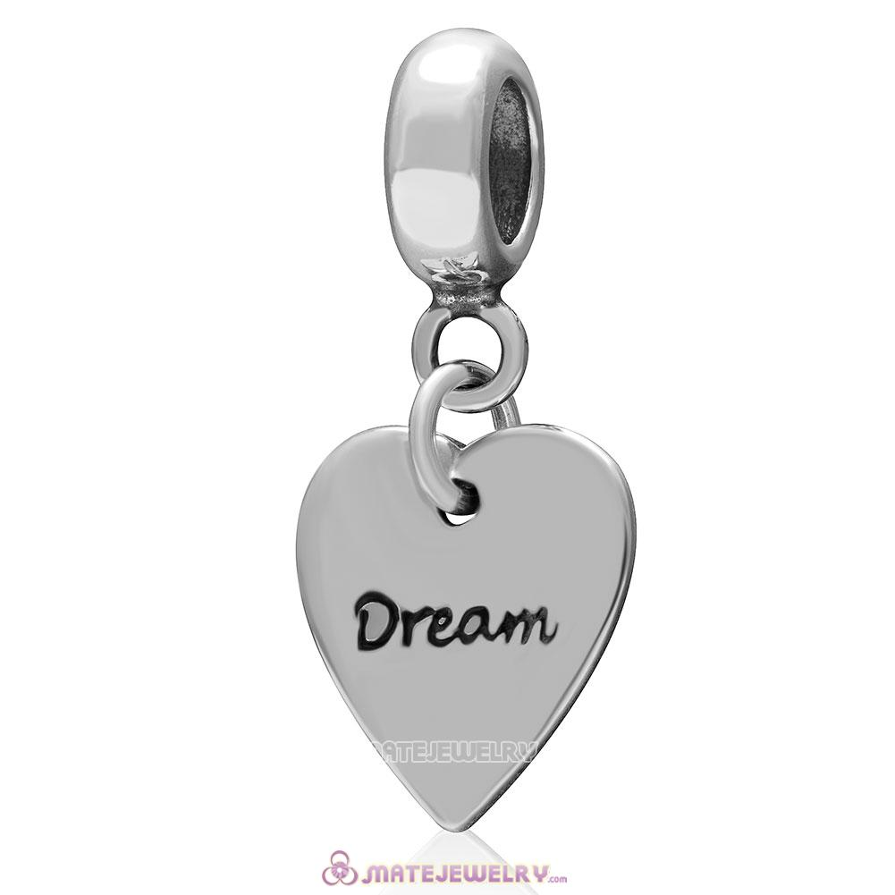 Dream Love Charm 925 Sterling Silver Pendant