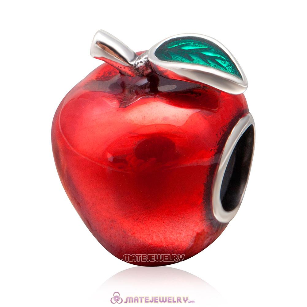 Sweet Red Apple Charm