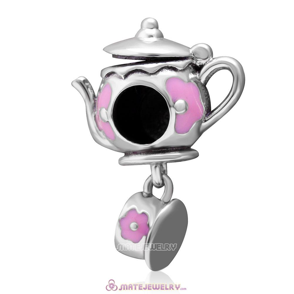 Teapot and Cup Enjoy Life Charm