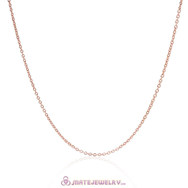 Fashion Rose Gold Basic Necklace