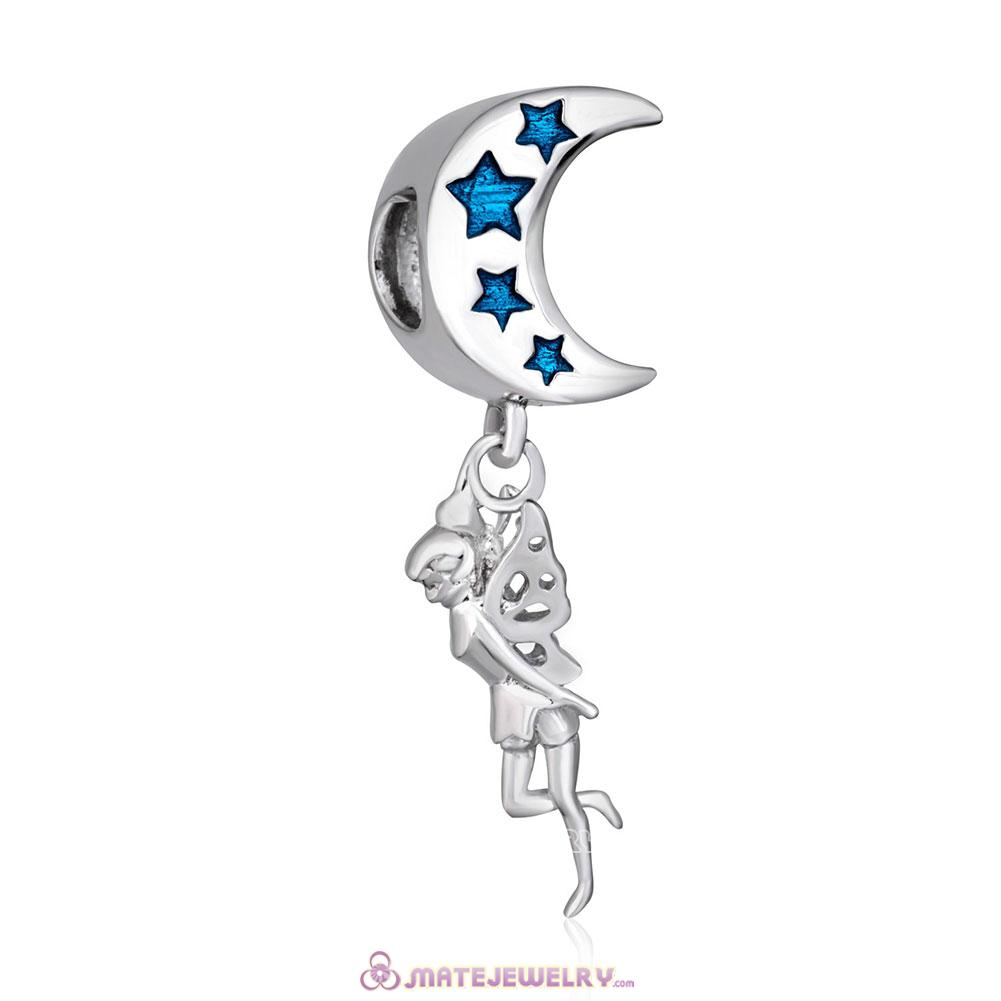 925 Sterling Silver Fairy Angel Charms Beads