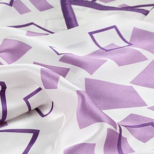 Fashion square silk scarves