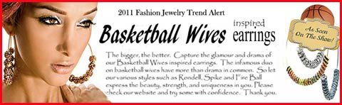basketball wives earrings wholesale