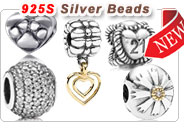 Sterling Silver 2012 Olympics sport beads
