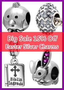 easter charm beads